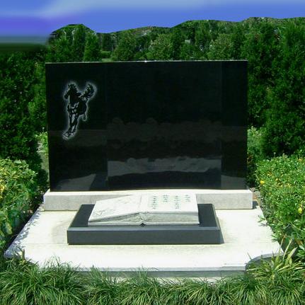 【石雕墓碑系列261】乐山墓碑雕刻