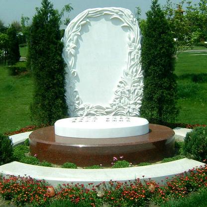 【石雕墓碑系列264】墓碑雕刻价格