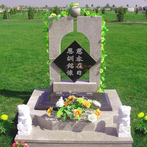 【石雕墓碑系列265】雕刻墓碑价格