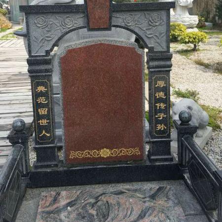 【石雕墓碑系列266】墓碑雕刻的价格