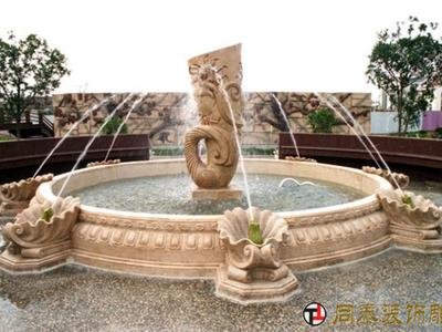 【石雕喷泉系列079】石雕喷泉公司