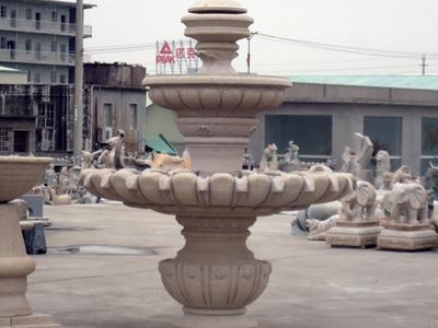 【石雕喷泉系列603】中式石雕喷泉定