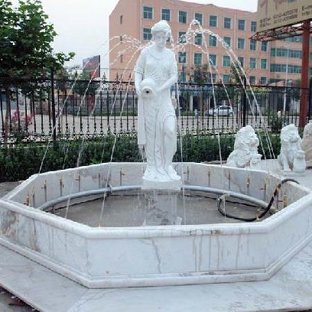 【石雕喷泉系列704】欧式石雕喷泉供应