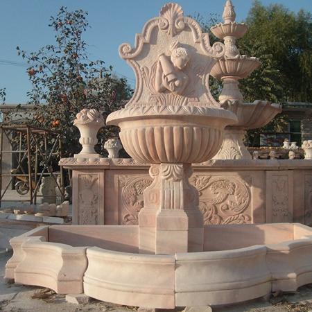 【石雕喷泉系列706】欧式石雕喷泉价格