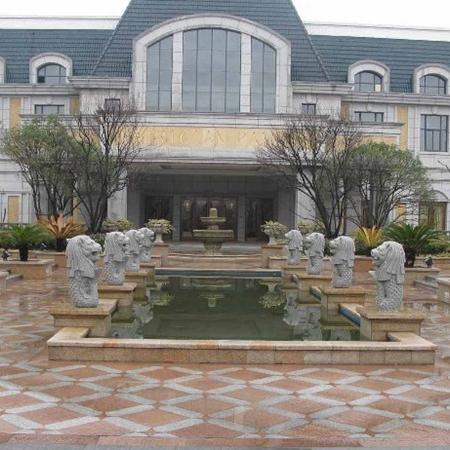 【石雕喷泉系列708】欧式石雕喷泉雕刻厂