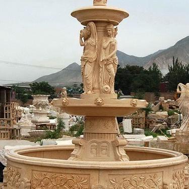 【石雕喷泉系列714】欧式石雕喷泉定做