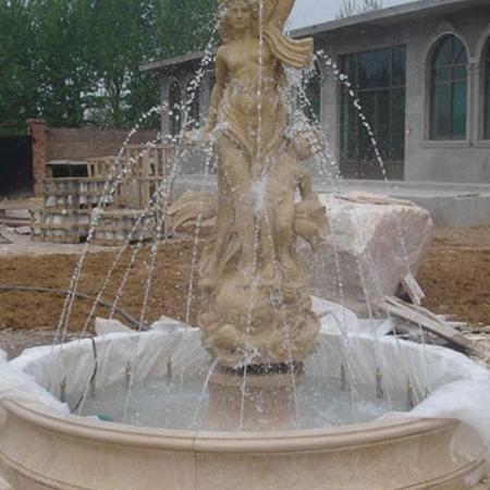 【石雕喷泉系列716】欧式石雕喷泉供应