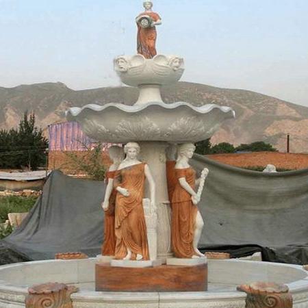 【石雕喷泉系列718】欧式石雕喷泉价格