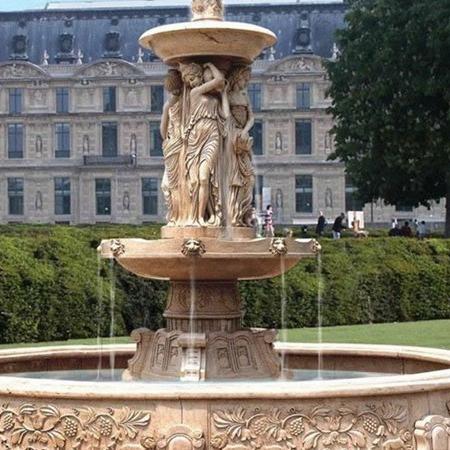 【石雕喷泉系列719】欧式石雕喷泉多少钱