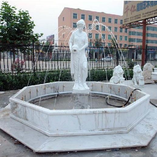 【石雕喷泉系列750】欧式石雕喷泉定做