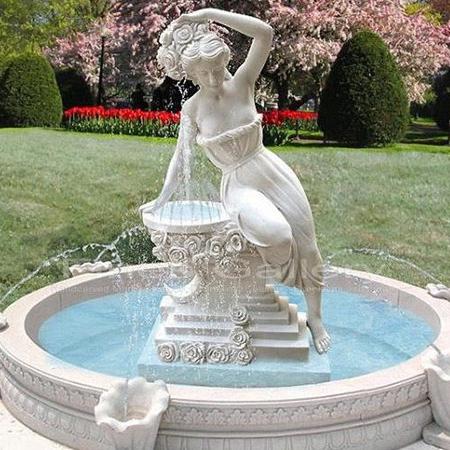【石雕喷泉系列760】欧式石雕喷泉公司