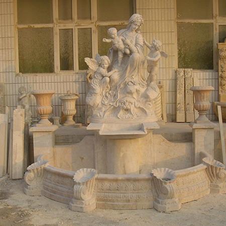 【石雕喷泉系列773】欧式石雕喷泉厂家
