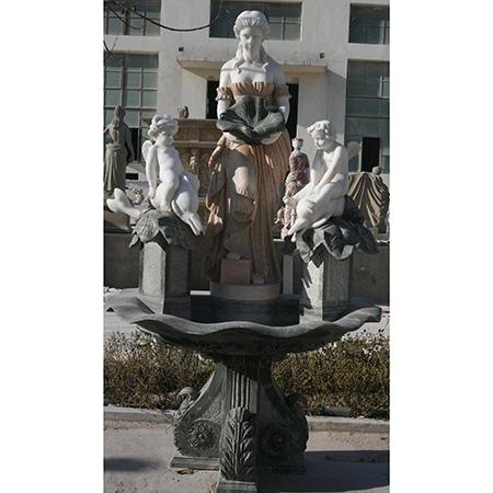 【石雕喷泉系列774】欧式石雕喷泉定做