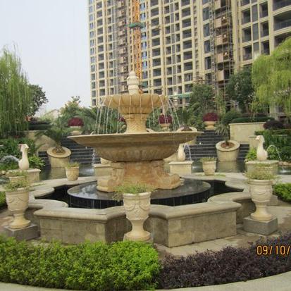 【石雕喷泉系列784】欧式石雕喷泉公司