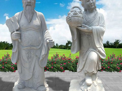 【人物雕塑0101】古代人物石雕像哪