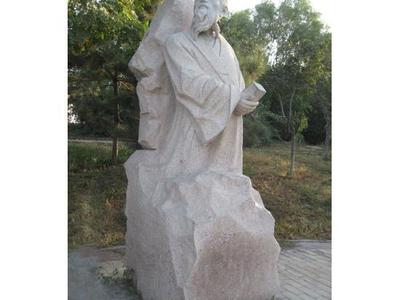 【人物雕塑0116】古代人物单体石雕