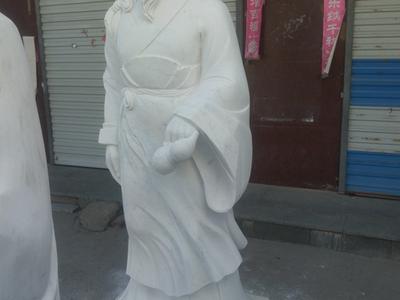 【人物雕塑0169】古代人物单体石雕
