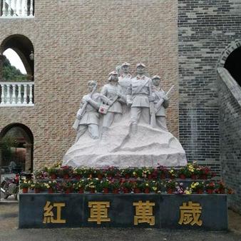 【人物雕塑0369】军事人物石雕像报价