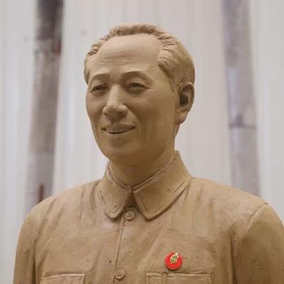 【人物雕塑0375】军事人物石雕像定制