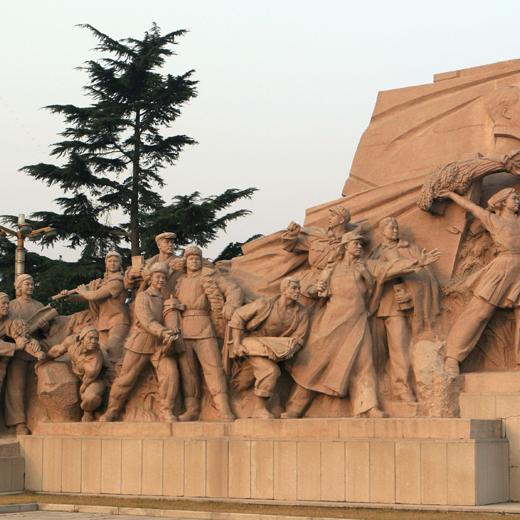 【人物雕塑0382】军事人物石雕像价格