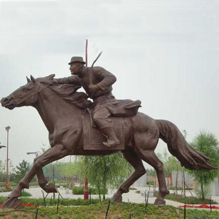 【人物雕塑0388】军事人物石雕像公司