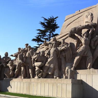 【人物雕塑0390】军事人物石雕像定做