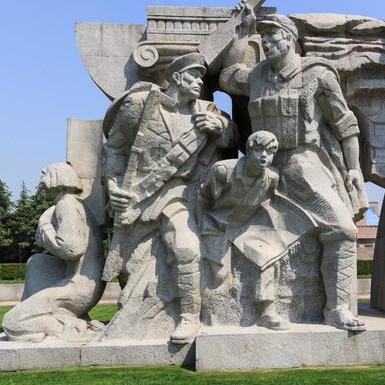 【人物雕塑0393】军事人物石雕像报价
