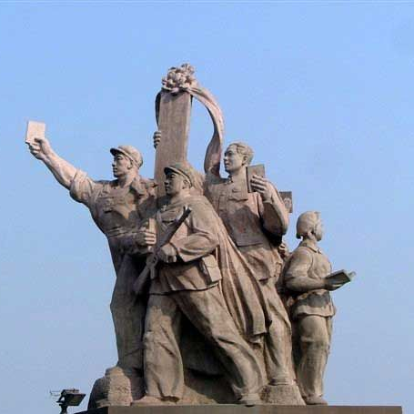 【人物雕塑0396】军事人物石雕像雕刻厂
