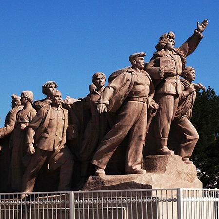 【人物雕塑0397】军事人物石雕像厂