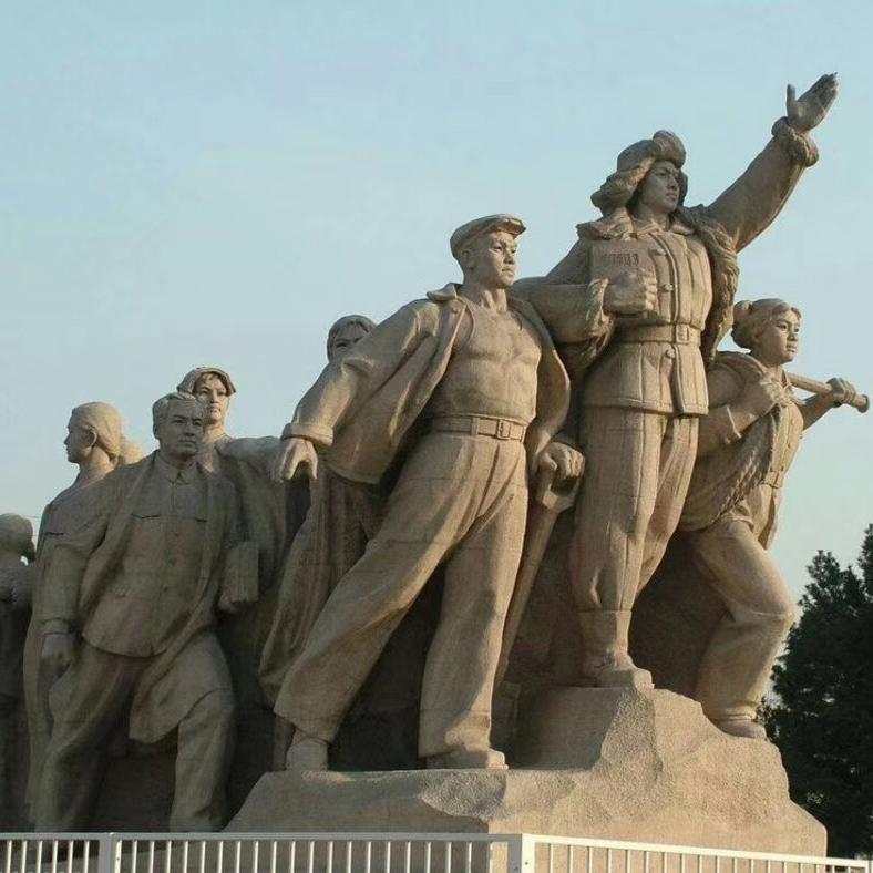 【人物雕塑0398】军事人物石雕像批发