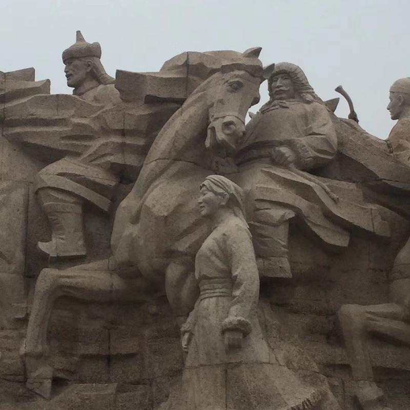 【人物雕塑0403】军事人物石雕像哪家好