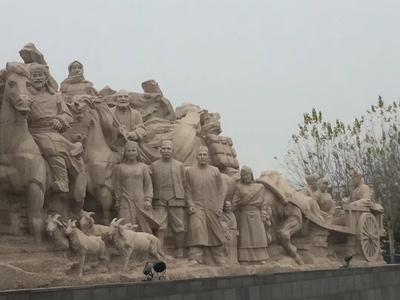 【人物雕塑0405】军事人物石雕像报