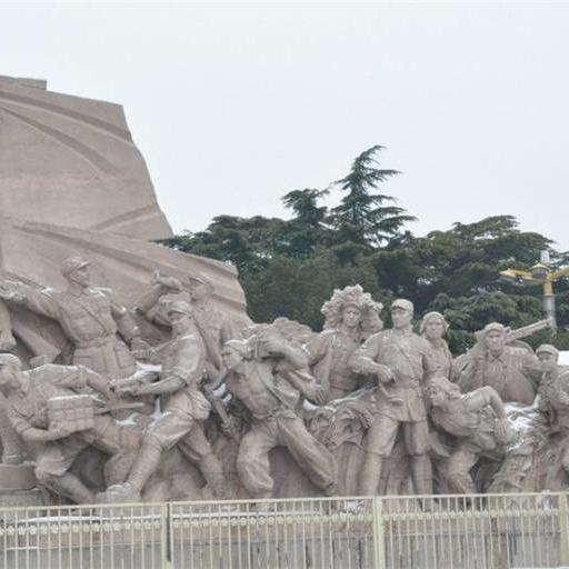 【人物雕塑0408】军事人物石雕像雕刻厂