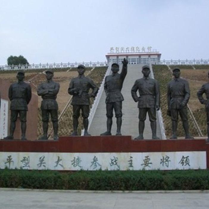 【人物雕塑0415】军事人物石雕像哪家好
