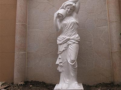 【人物雕塑0630】西方人物石雕像定