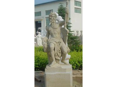 【人物雕塑0874】西方人物石雕像价