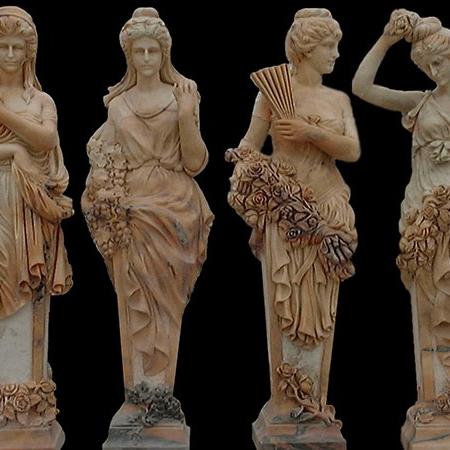 【人物雕塑1076】西方人物石雕像供应