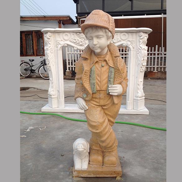 【人物雕塑1098】西方人物石雕像定做