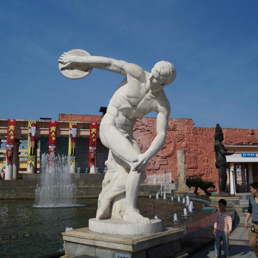 【人物雕塑1104】西方人物石雕像雕刻厂