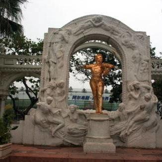 【人物雕塑1107】西方人物石雕像定制