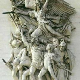 【人物雕塑1110】西方人物石雕像定做