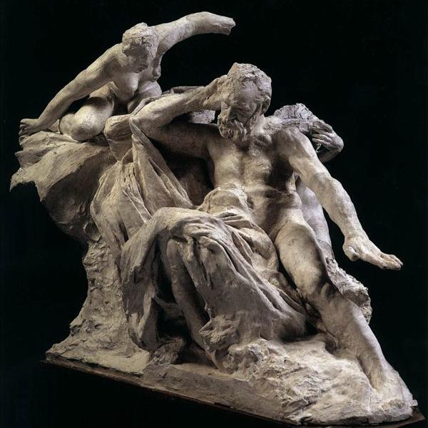 【人物雕塑1118】西方人物石雕像批发