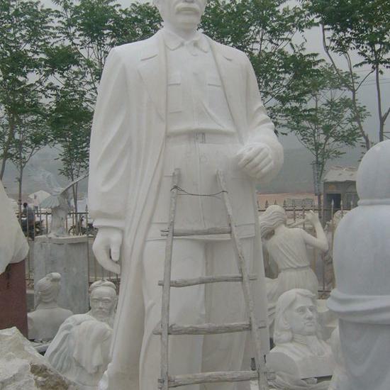 【人物雕塑1172】名人伟人石雕像定做