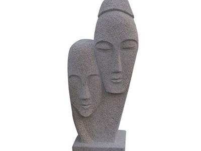 【人物雕塑1220】抽像人物石雕像定