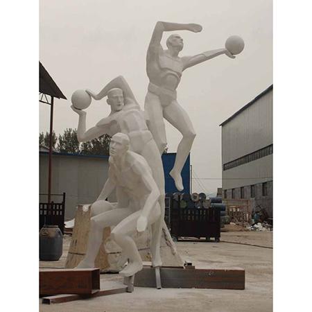 【人物雕塑1239】抽像人物石雕像厂