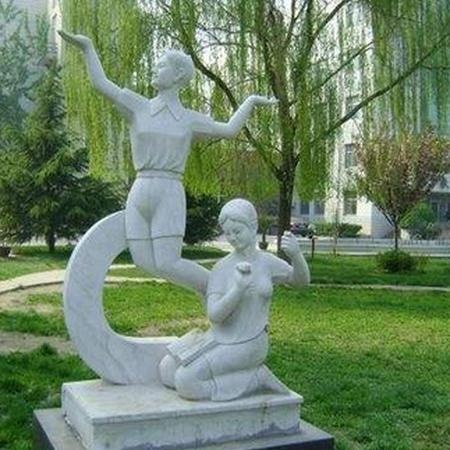 【人物雕塑1245】抽像人物石雕像哪家好
