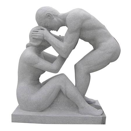 【人物雕塑1252】抽像人物石雕像批发