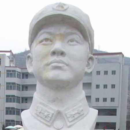 【人物雕塑1338】现代名人石雕胸像公司