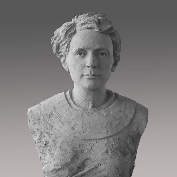 【人物雕塑1342】现代名人石雕胸像供应