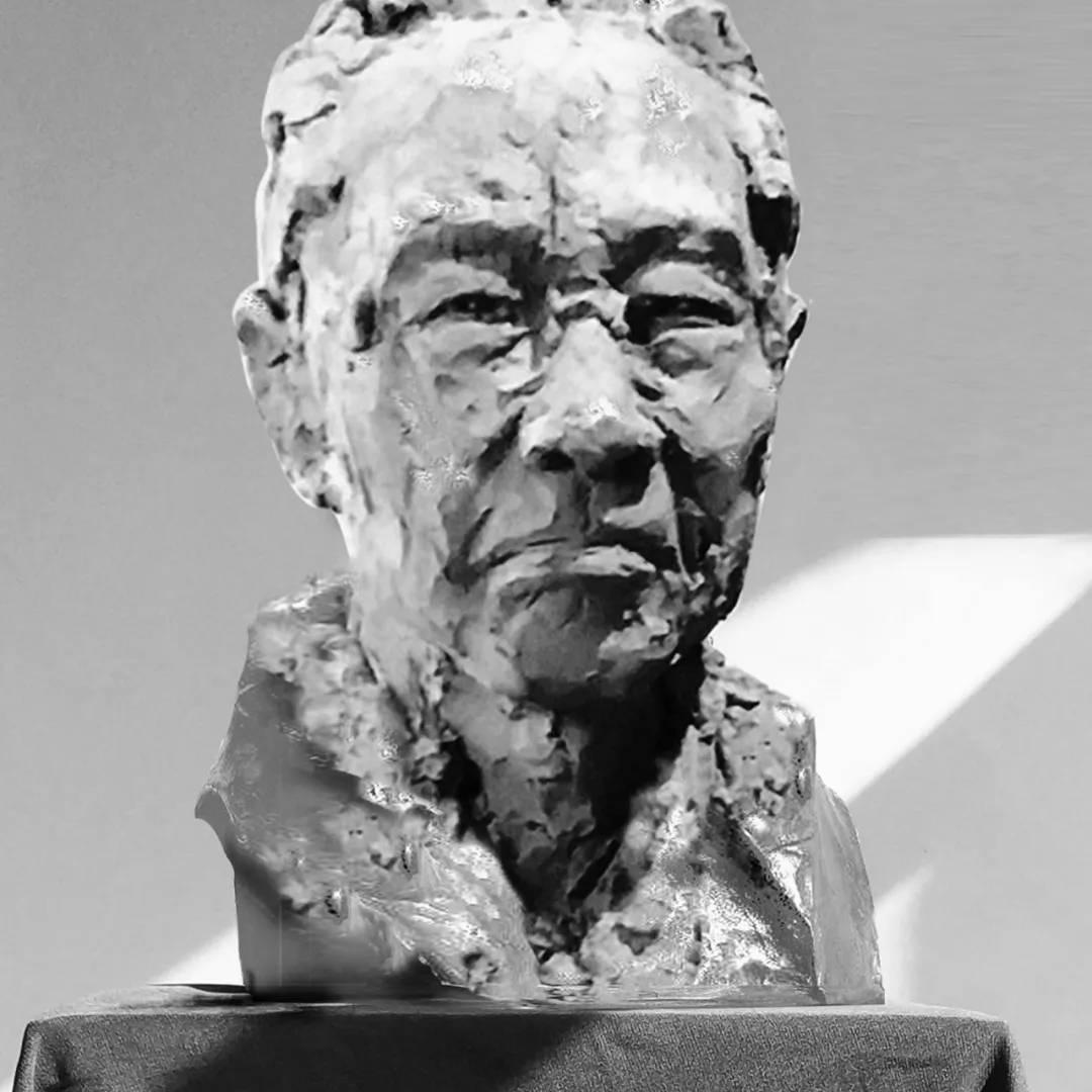 【人物雕塑1343】现代名人石雕胸像报价